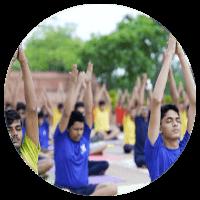Yoga at IIT Gurukulam