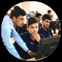 Computer lab at iit gurukulam