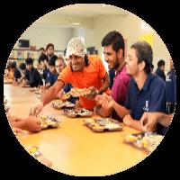 Food court at iit gurukulam