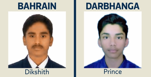 Dikshith and Prince at IIT Gurukulam