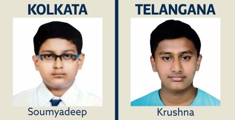 Soumyadeep and Krushna IIT Gurukulam