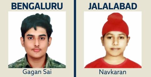 Gagan and Navkaran - IIT Gurukulam Students
